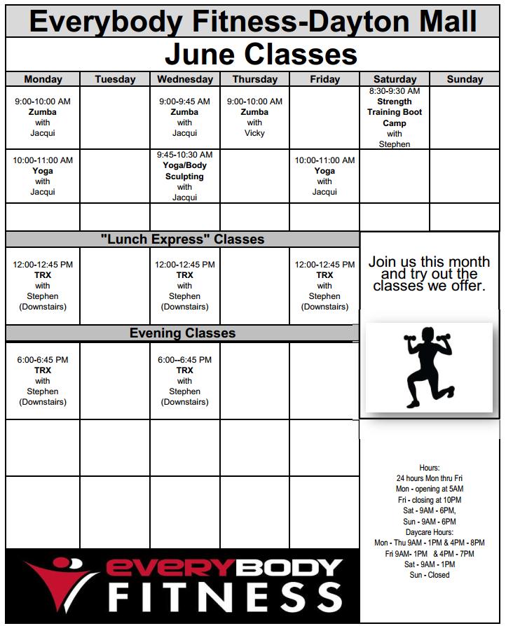 EveryBody Fitness | Gym Centerville Ohio - 937-435-3555