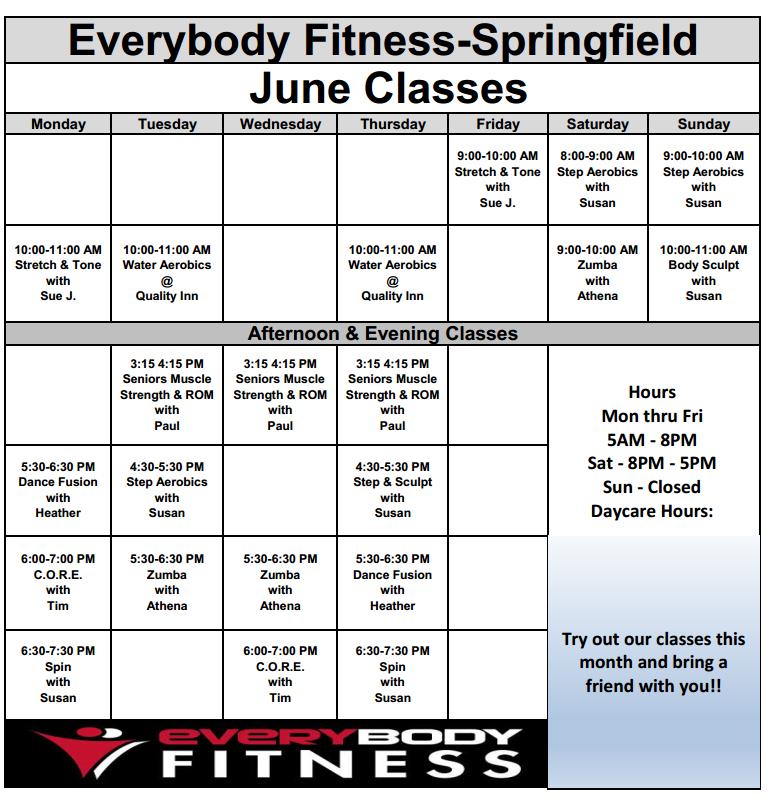 EveryBody Fitness | Gym Springfield Ohio - 937-399-2360